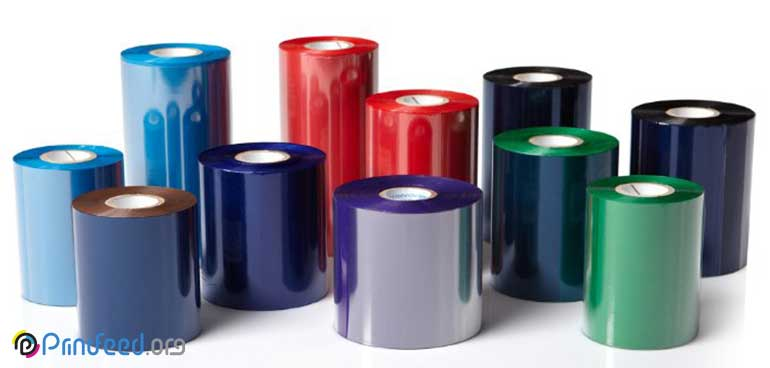 انواع ریبون در صنعت چاپ