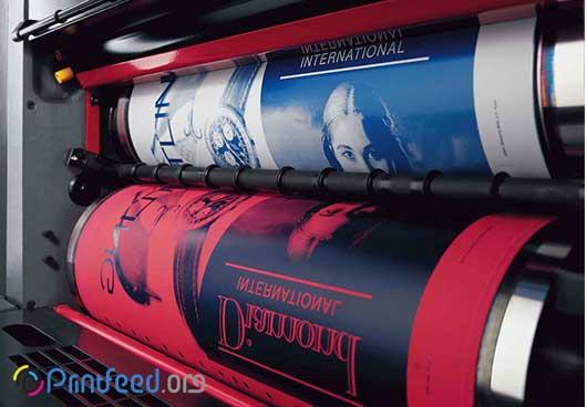 لیتوگرافی و فرآیند چاپ آن