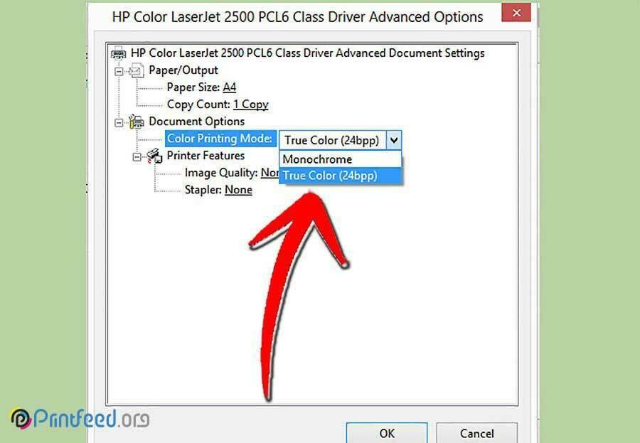 بهبود کیفیت چاپ تصویر در پرینترهای لیزری