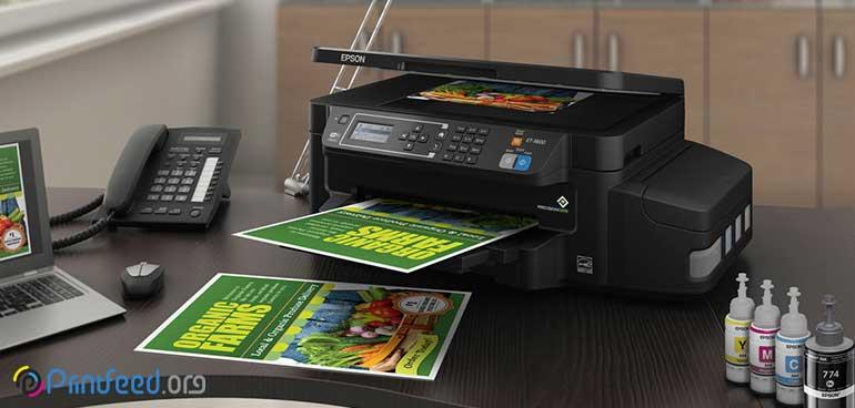 افزایش کیفیت چاپ در پرینترهای جوهرافشان