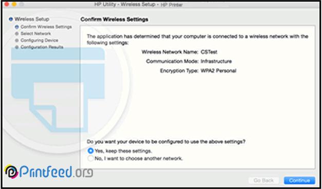 عدم اتصال پرینتر HP به Wi-Fi