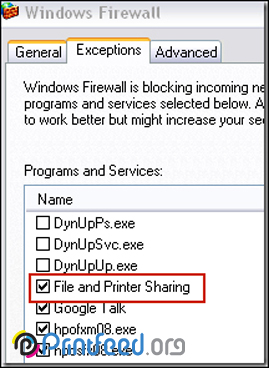 پیغام خطای Windows cannot connect to the printer