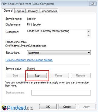رفع خطا در زمان نصب درایور پرینتر