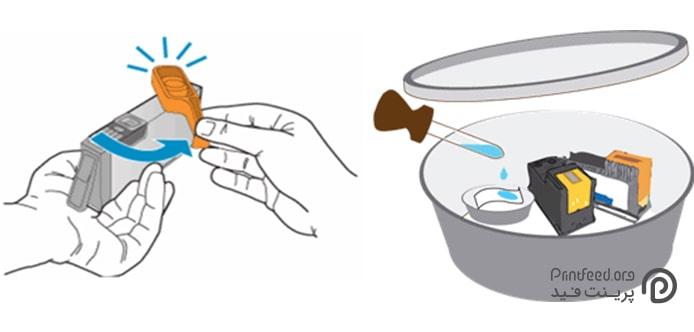 جلوگیری از خشک شدن کارتریج