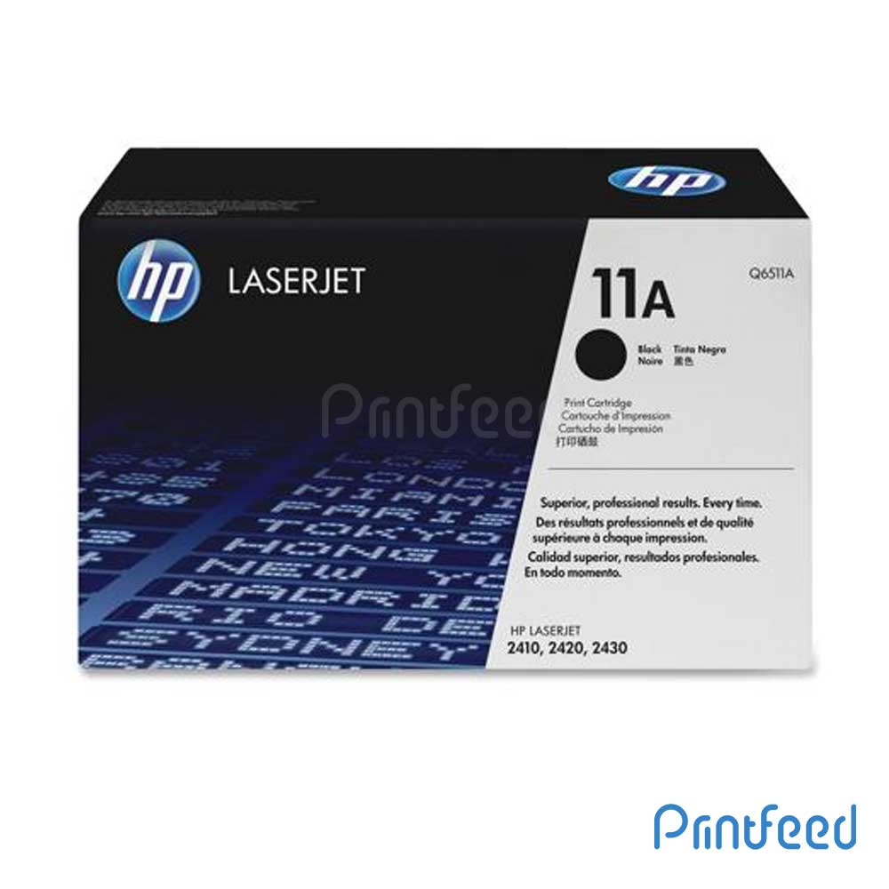 HP Laserjet 11A Black cartridge