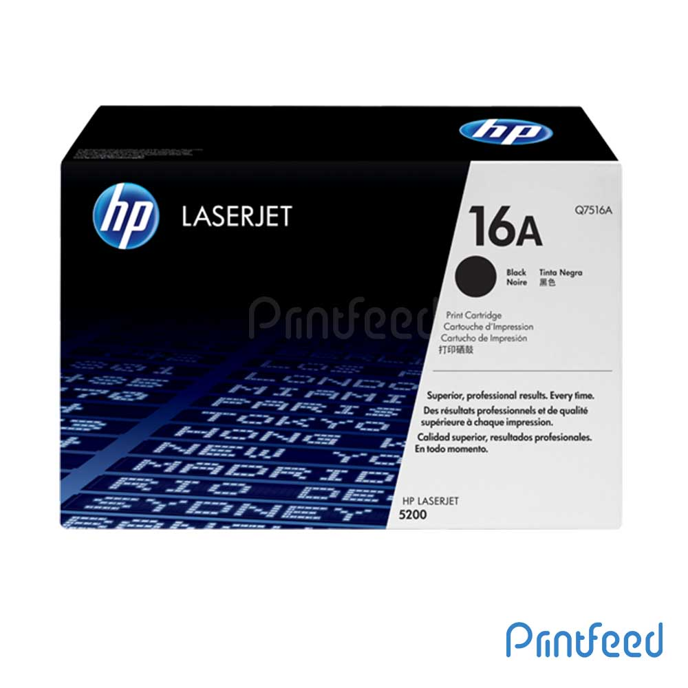 HP Laserjet 16A Black cartridge