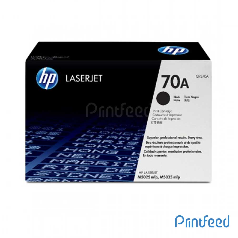HP Laserjet 70A Black cartridge