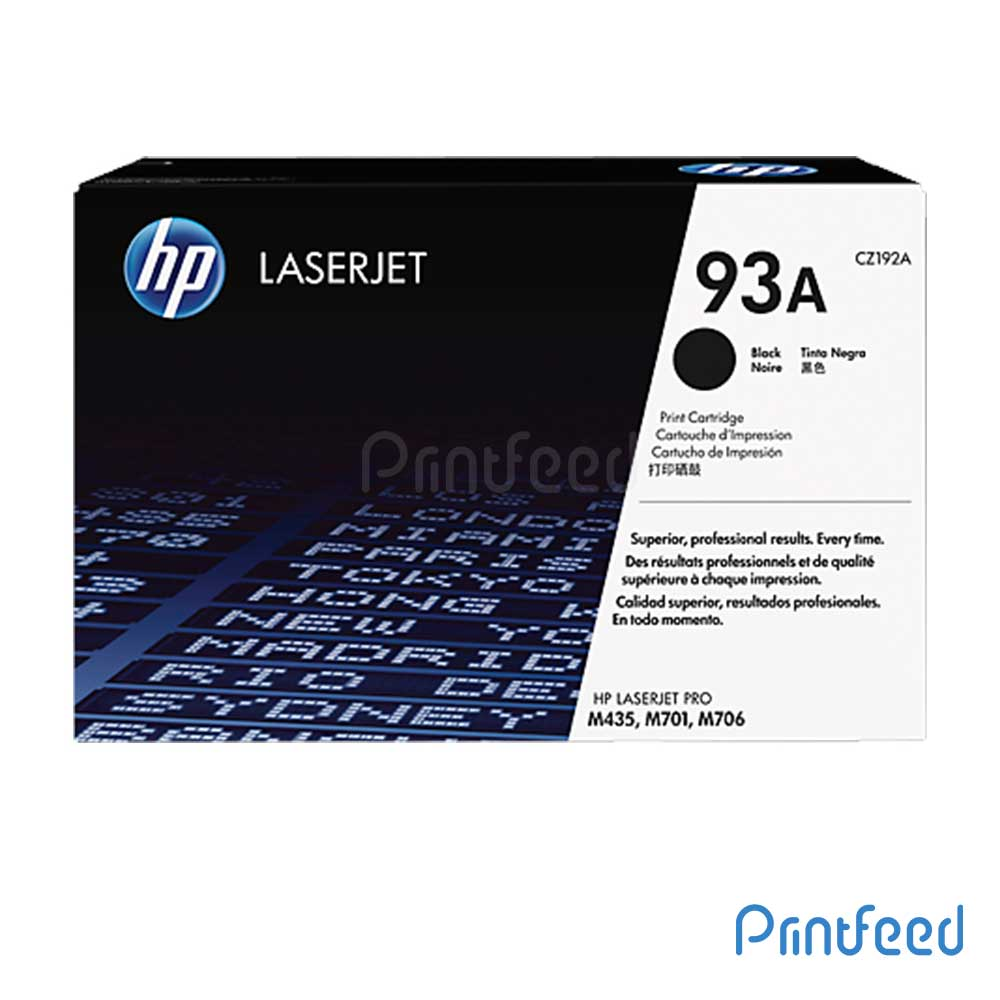 HP Laserjet 93A Black Cartridge