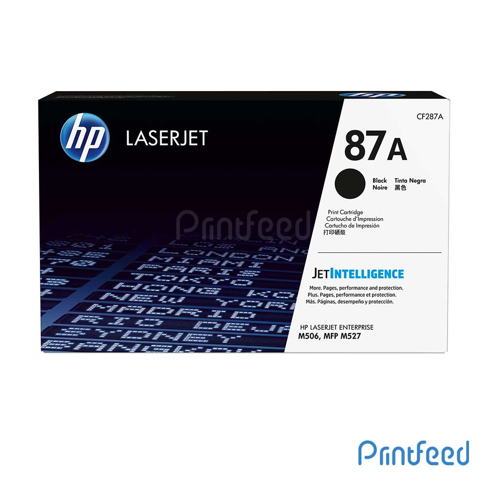 HP LaserJet 87A Black Cartridge