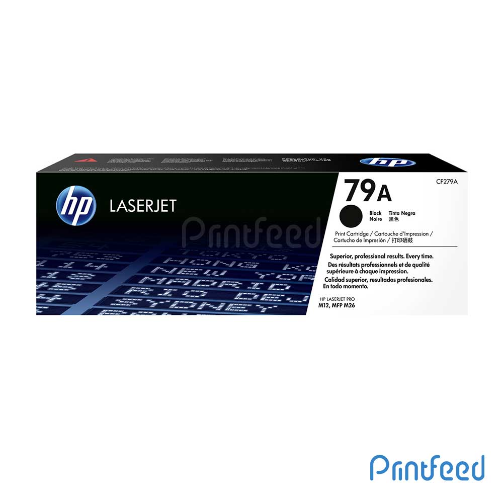 HP LaserJet 79A Black Cartridge