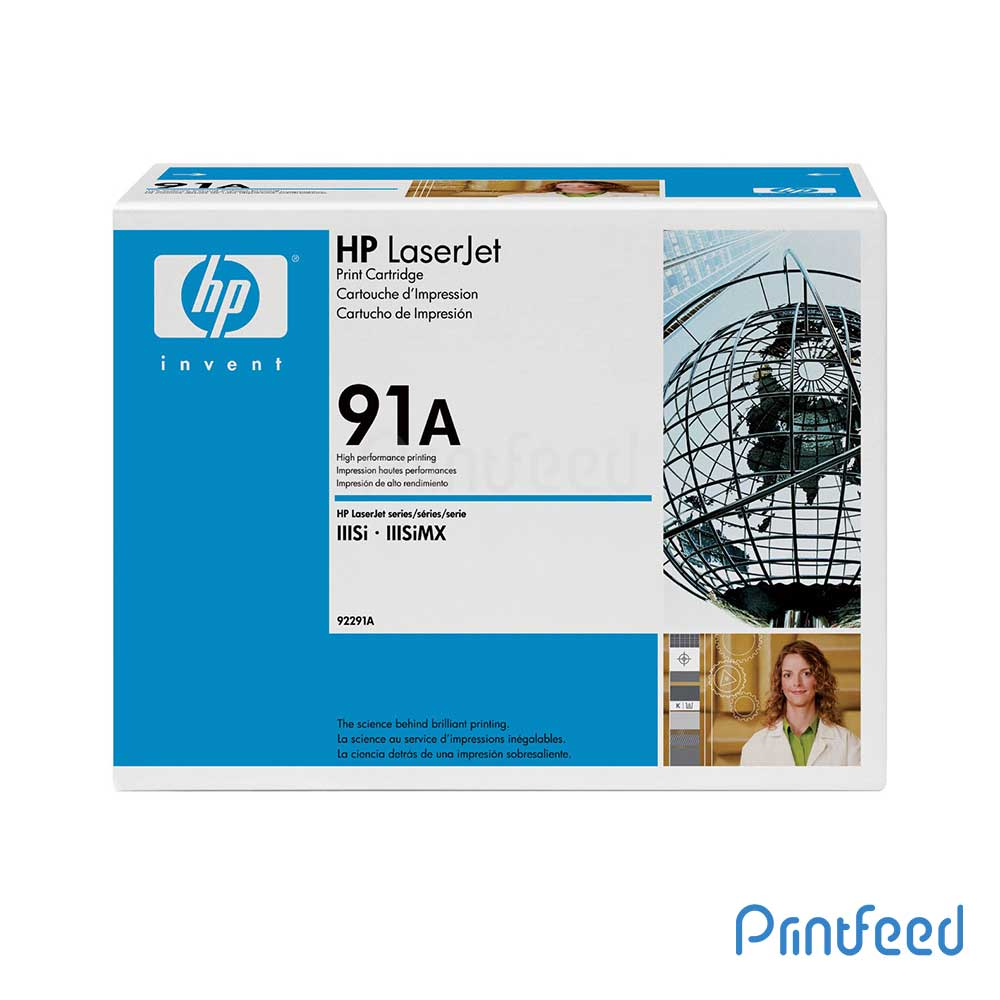 HP LaserJet 91A Black Cartridge