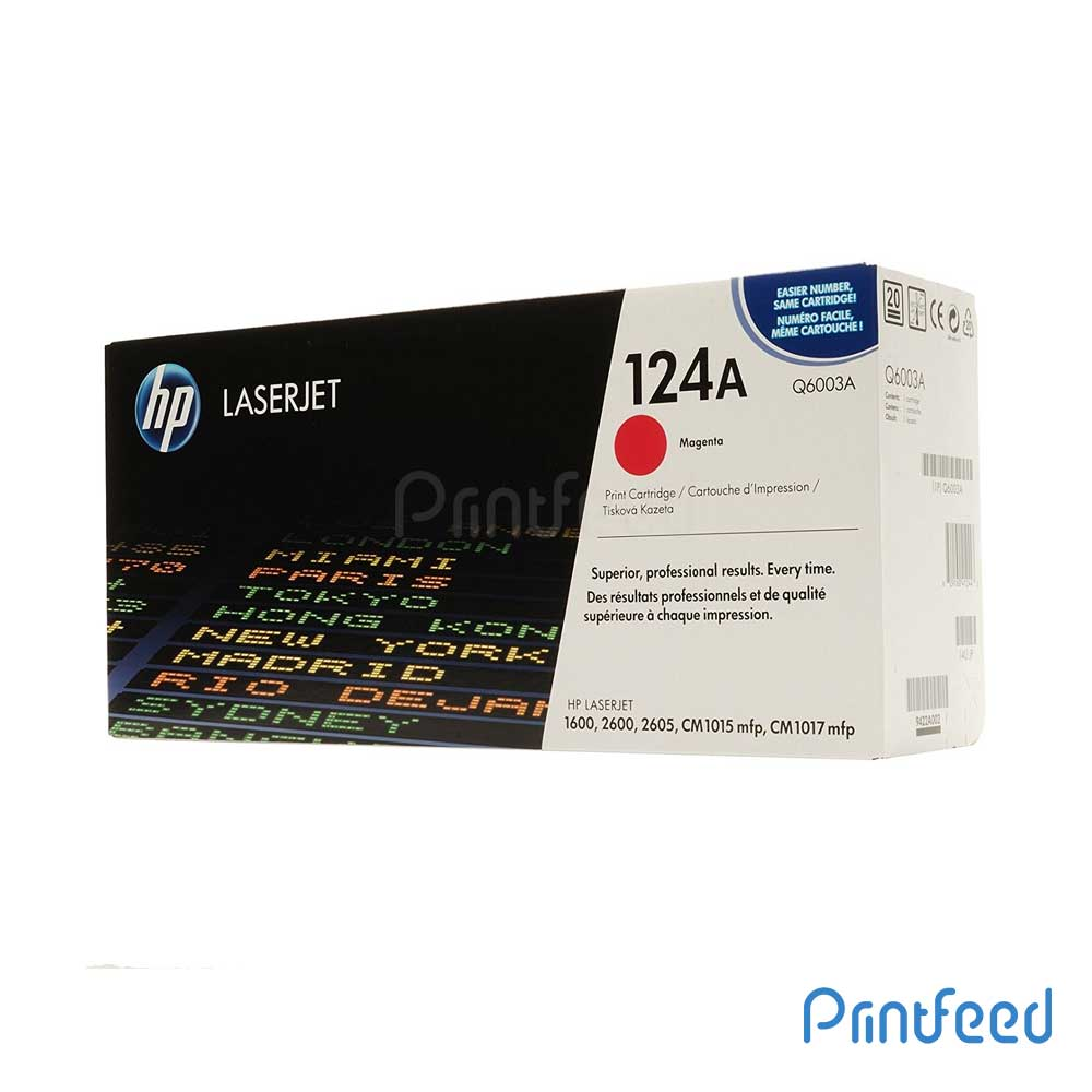 HP 124A Color Laserjet Magenta cartridge