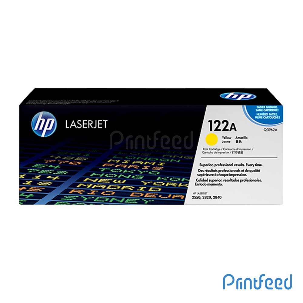 HP 122A Color Laserjet Yellow cartridge