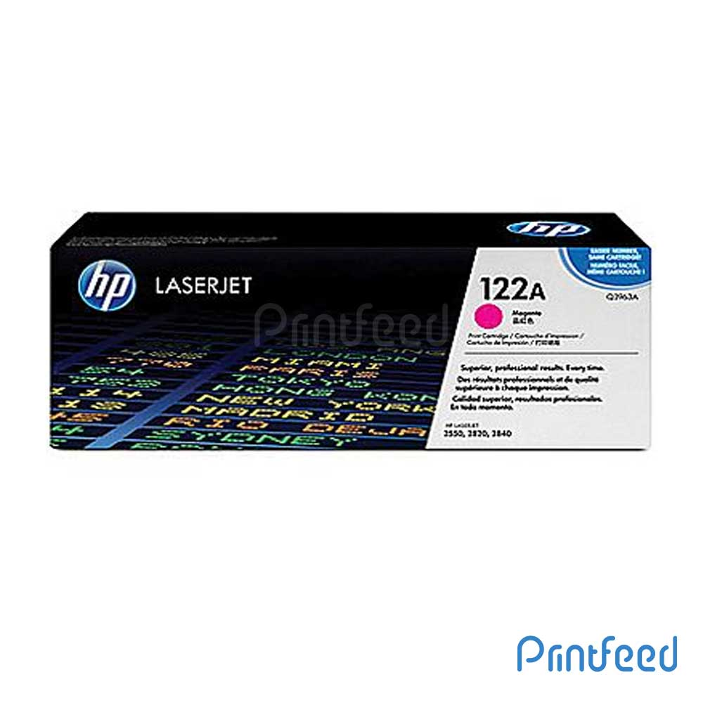 HP 122A Color Laserjet Magenta cartridge