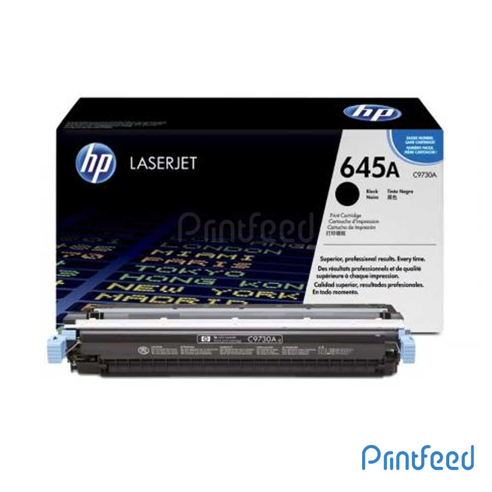 HP 645A Laserjet Black cartridge