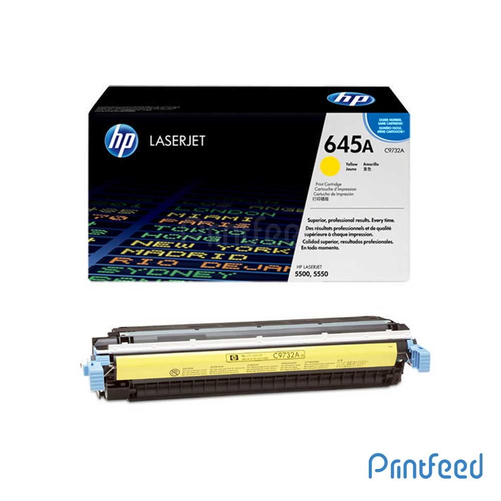 HP 645A Color Laserjet Yellow cartridge