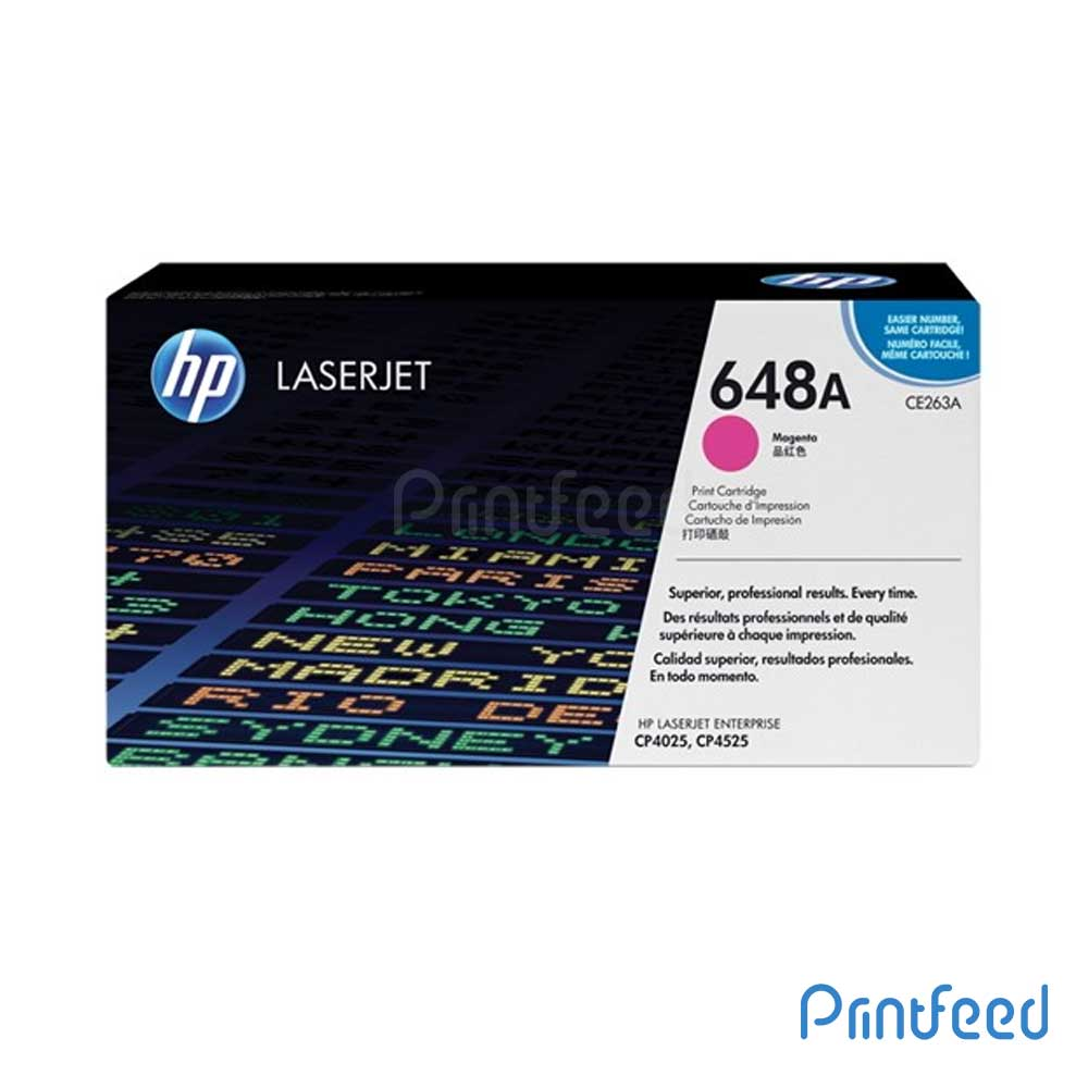 HP 648A Color Laserjet Magenta cartridge
