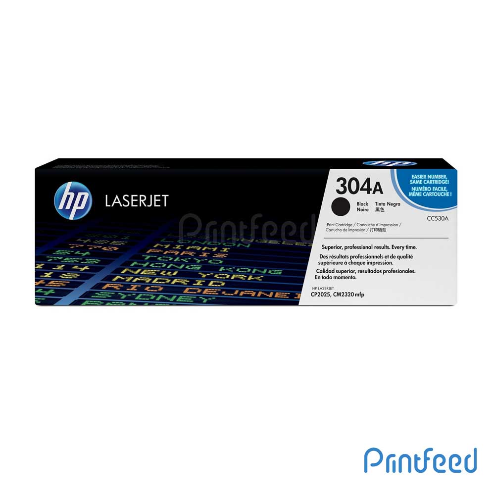 HP 304A Laserjet Black cartridge