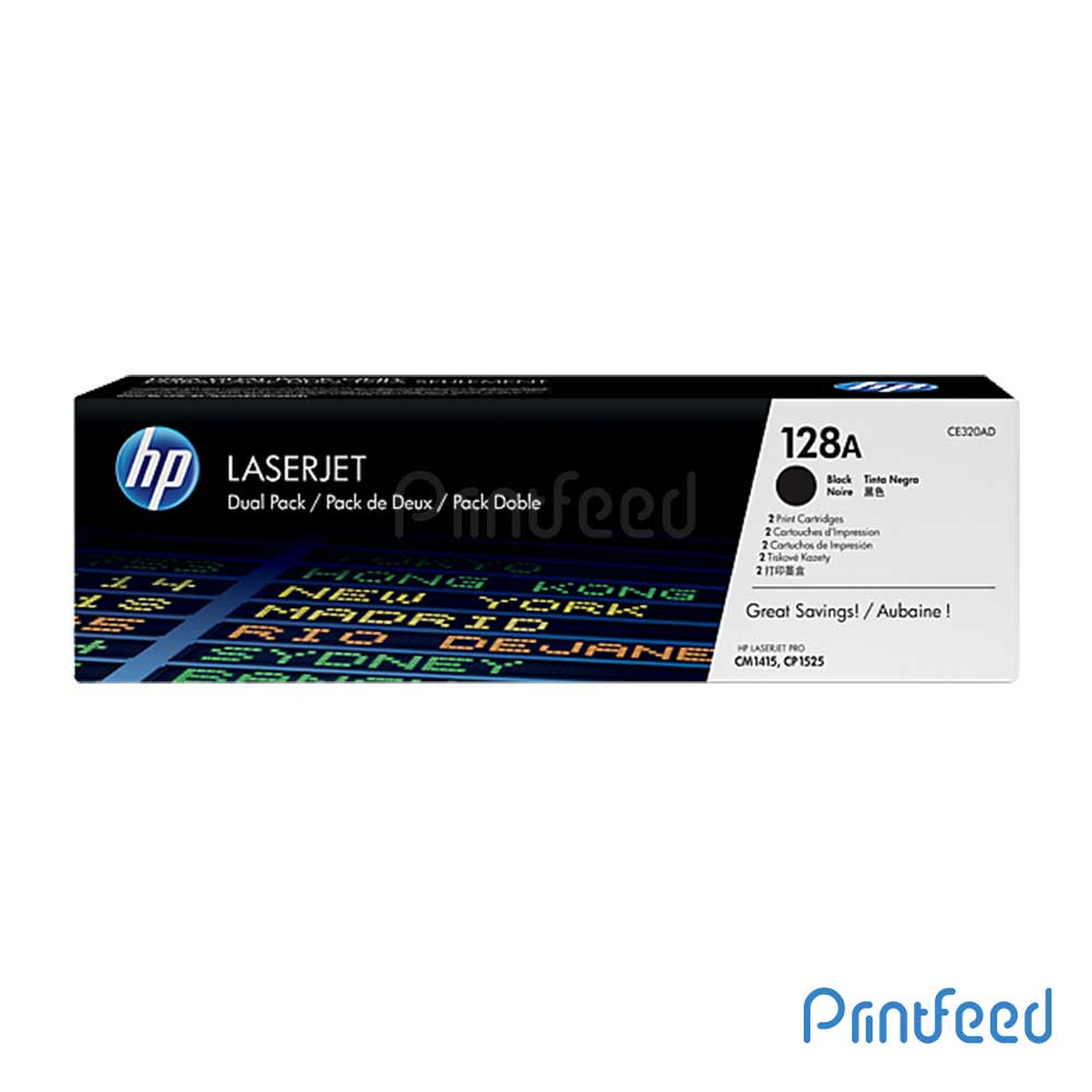HP 128 Laserjet Black Cartridge
