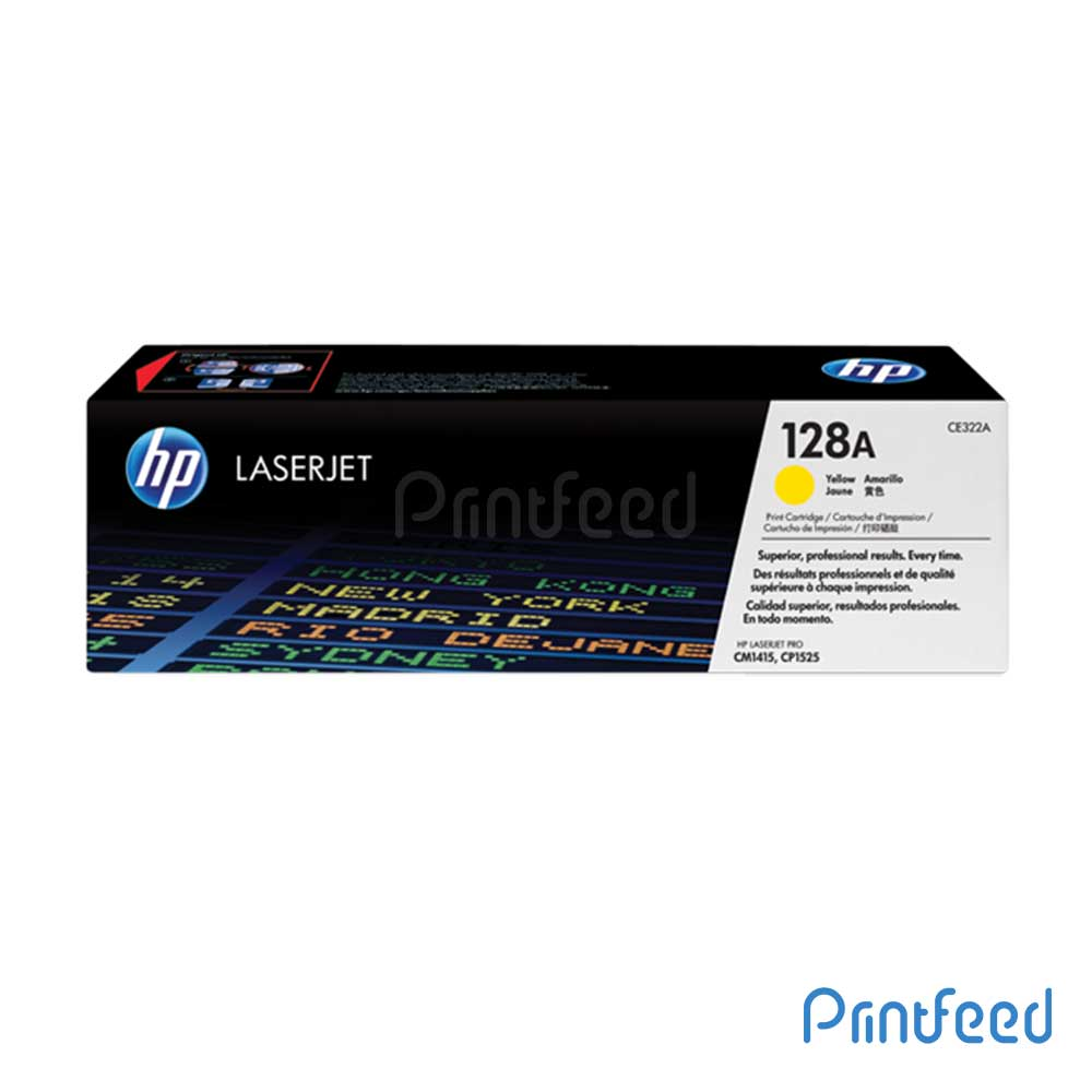 HP 128 Color Laserjet Yellow Cartridge