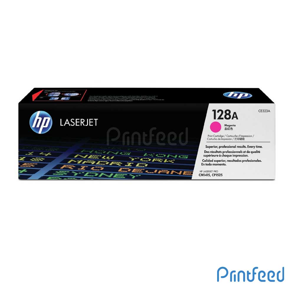 HP 128 Color Laserjet Magenta Cartridge