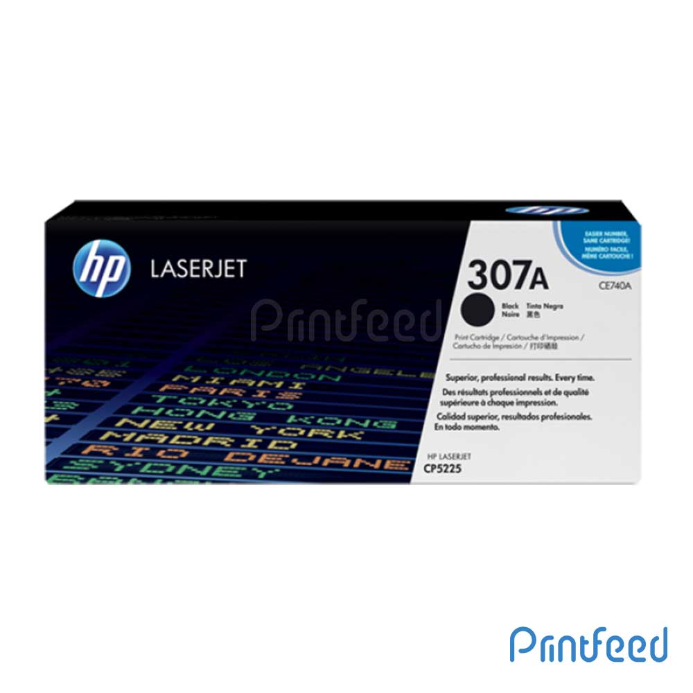 HP 307A Laserjet Black cartridge