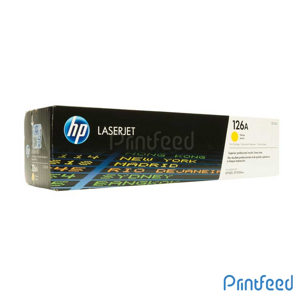 HP 126A Color Laserjet Yellow Cartridge
