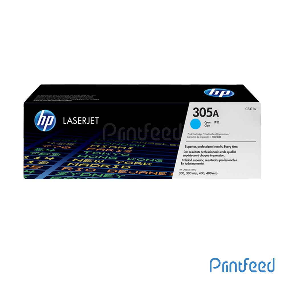 HP 305A Color Laserjet Cyan cartridge