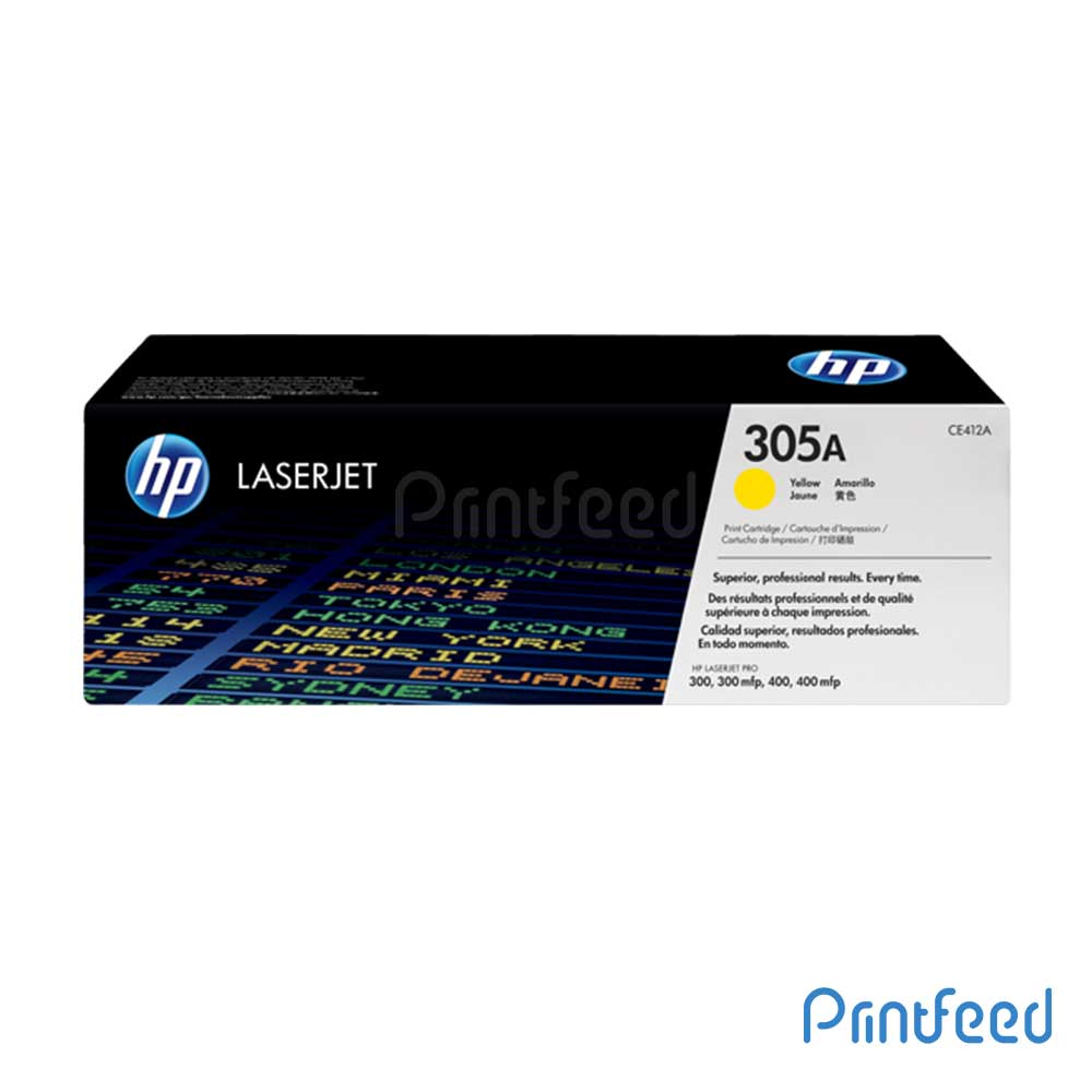 HP 305A Color Laserjet Yellow Cartridge