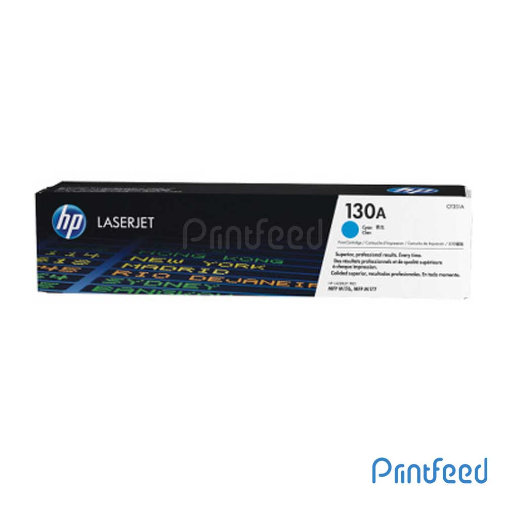 HP 130A Color Laserjet Cyan Cartridge