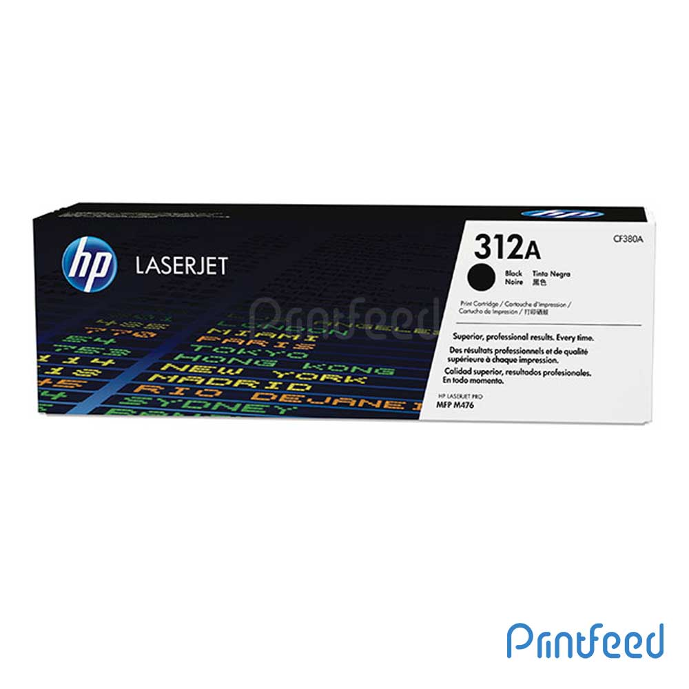HP 312A Laserjet Black Cartridge