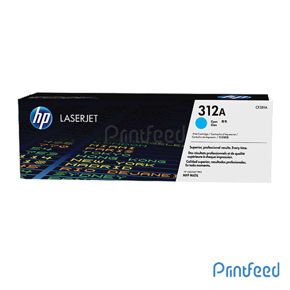 HP 312A Color Laserjet Cyan Cartridge