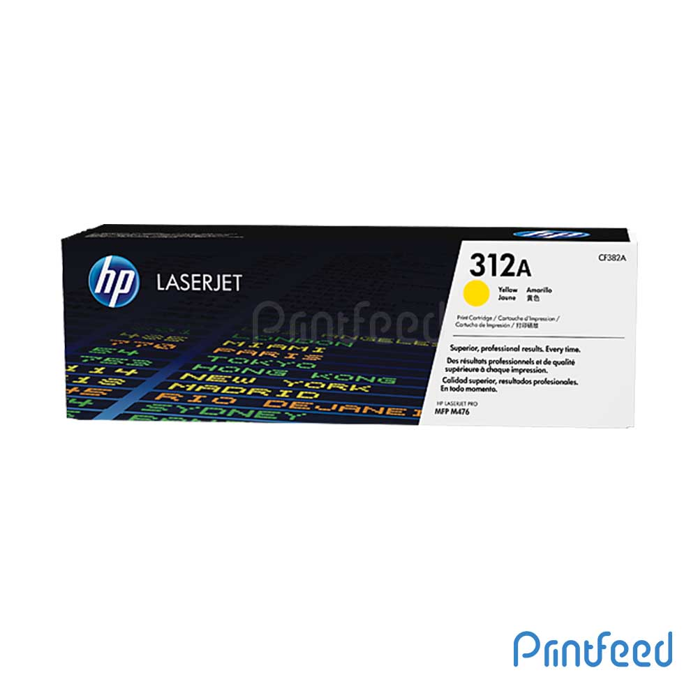 HP 312A Color Laserjet Yellow Cartridge