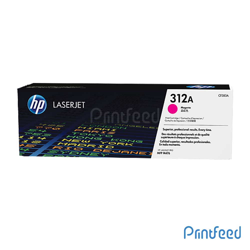 HP 312A Color Laserjet Magenta Cartridge