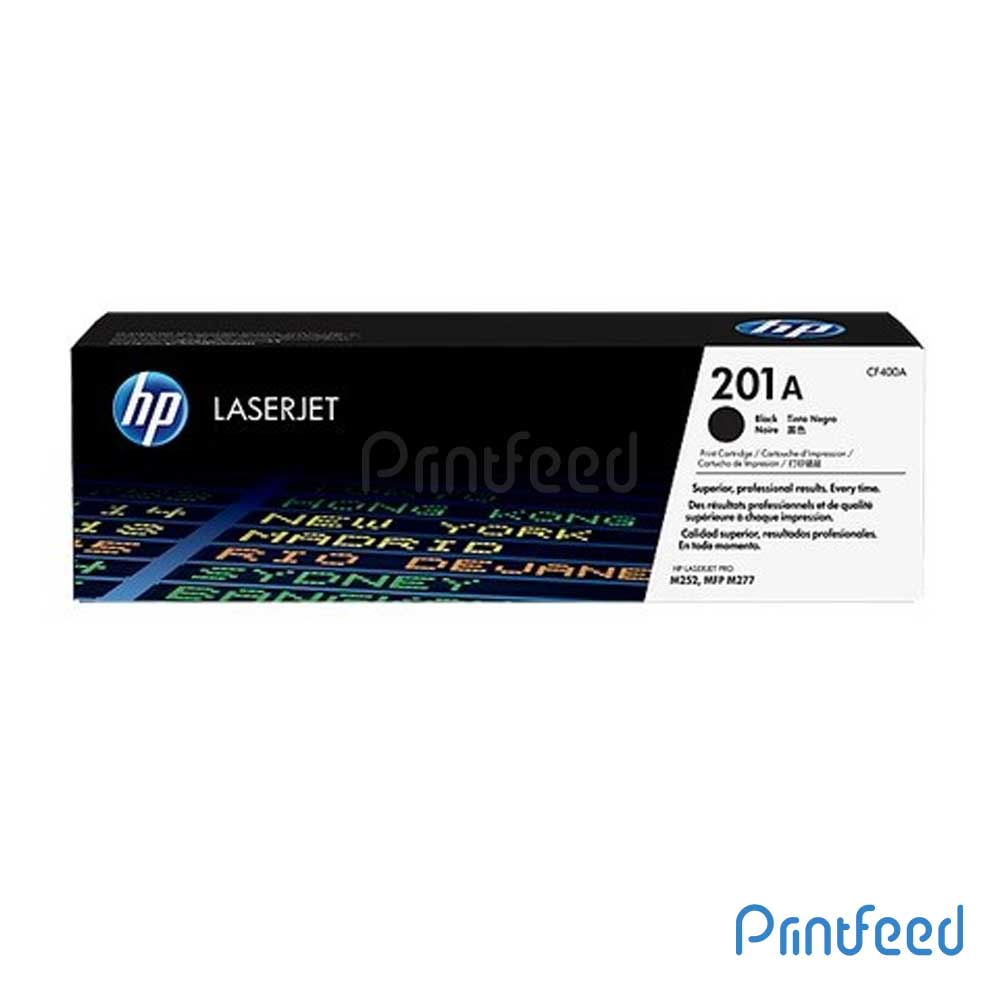 HP 201A LaserJet Black Cartridge