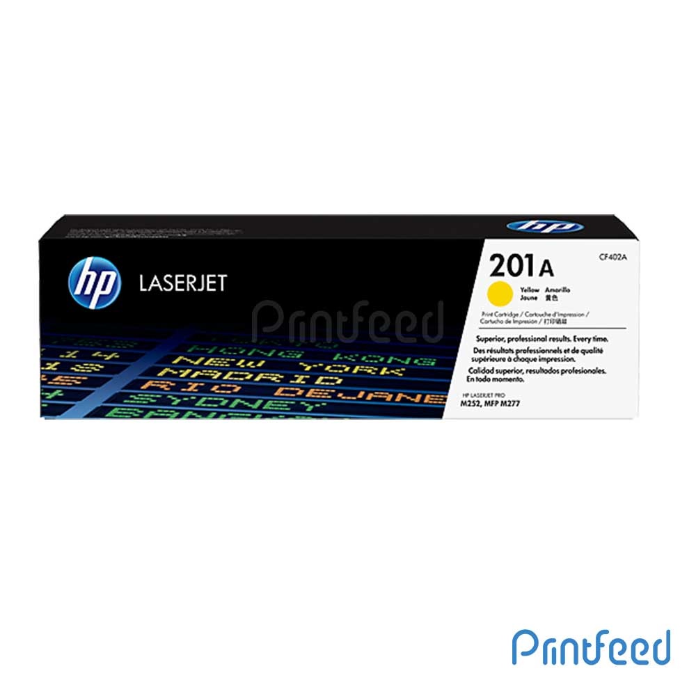 HP 201A Color LaserJet Yellow Cartridge
