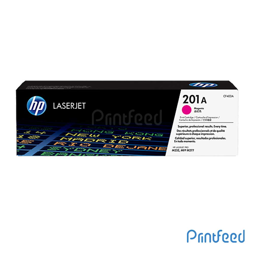 HP 201A Color LaserJet Magenta Cartridge