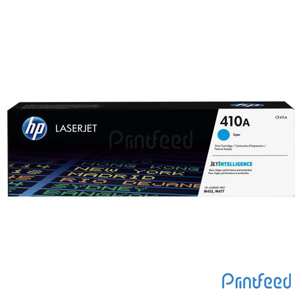 HP 410A Color LaserJet Cyan Cartridge