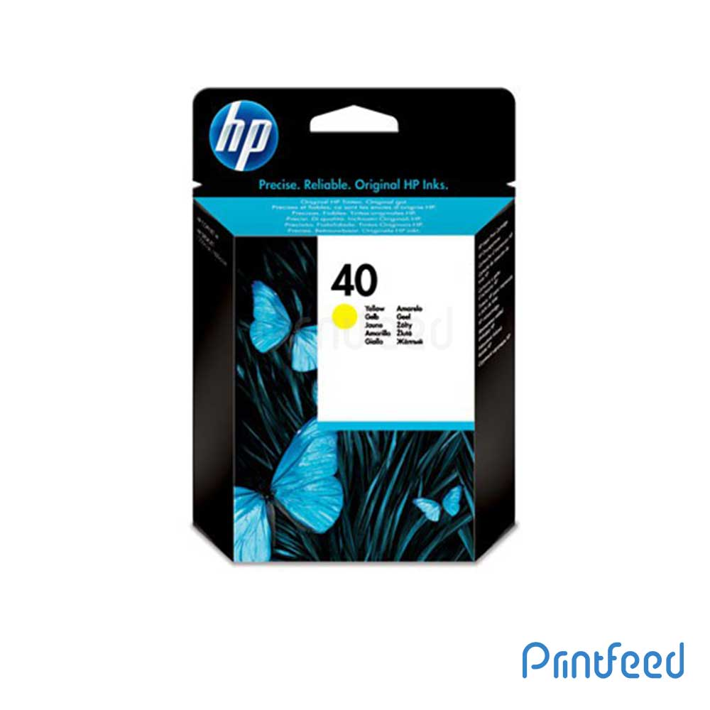 HP 40 Yellow Inkjet Print Cartridge