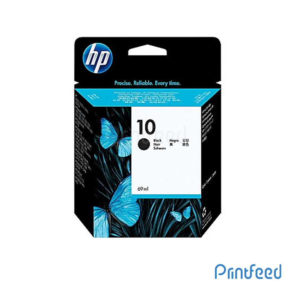 HP 10 Black Inkjet Print Cartridge