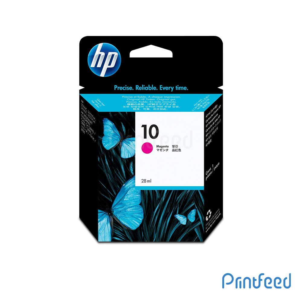 HP 10 Magenta Inkjet Print Cartridge
