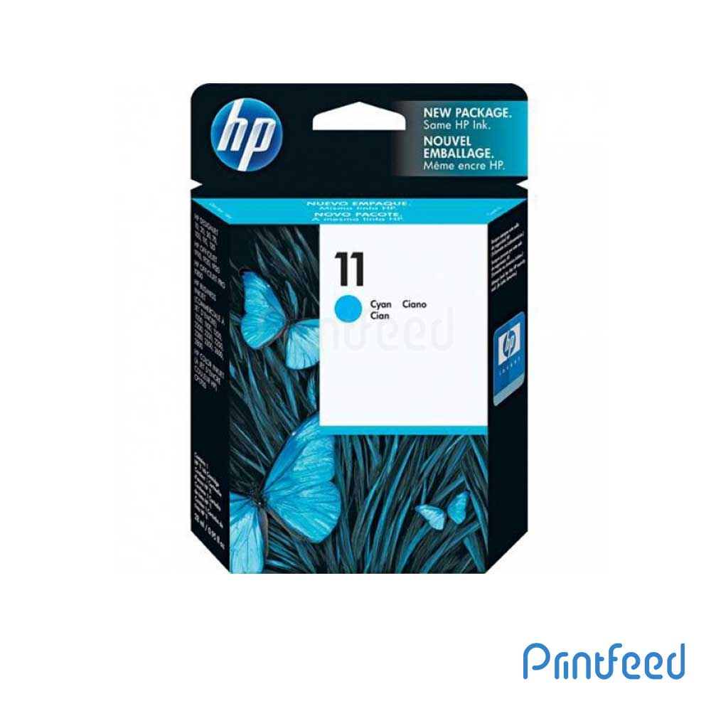 HP 11 Cyan Inkjet Print Cartridges