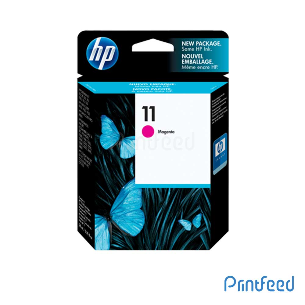 HP 11 Magenta Inkjet Print Cartridges