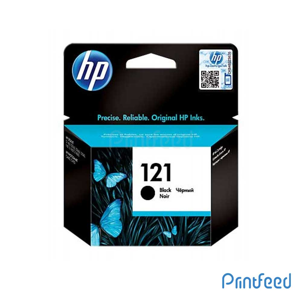 HP 121 Black Inkjet Print Cartridges