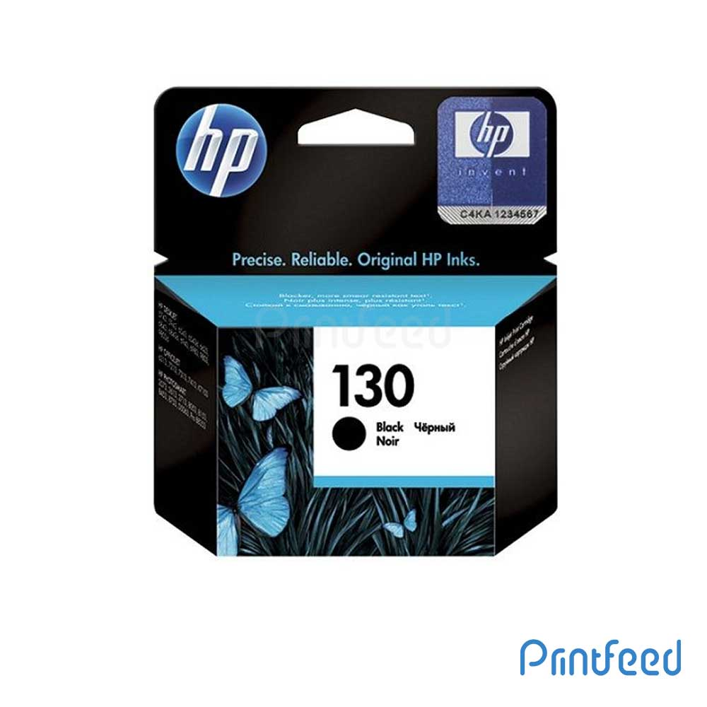 HP 130 Black Inkjet Print Cartridges
