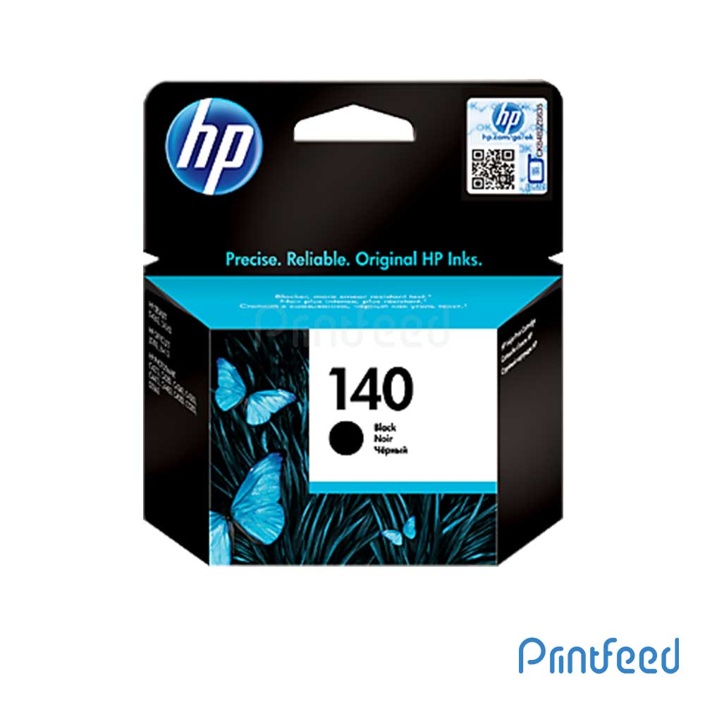 HP 140 Black Inkjet Print Cartridges