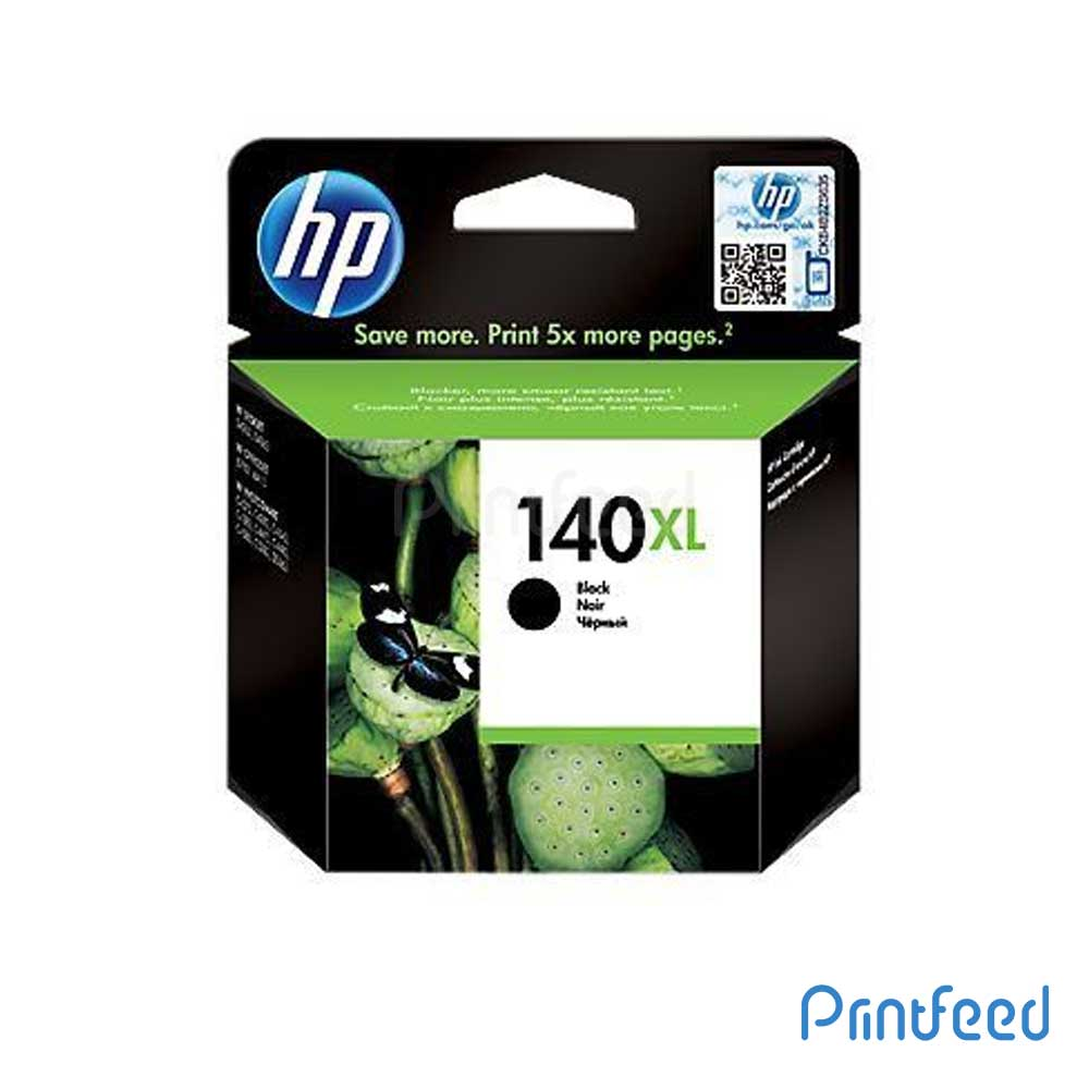 HP 140XL Black Inkjet Print Cartridges