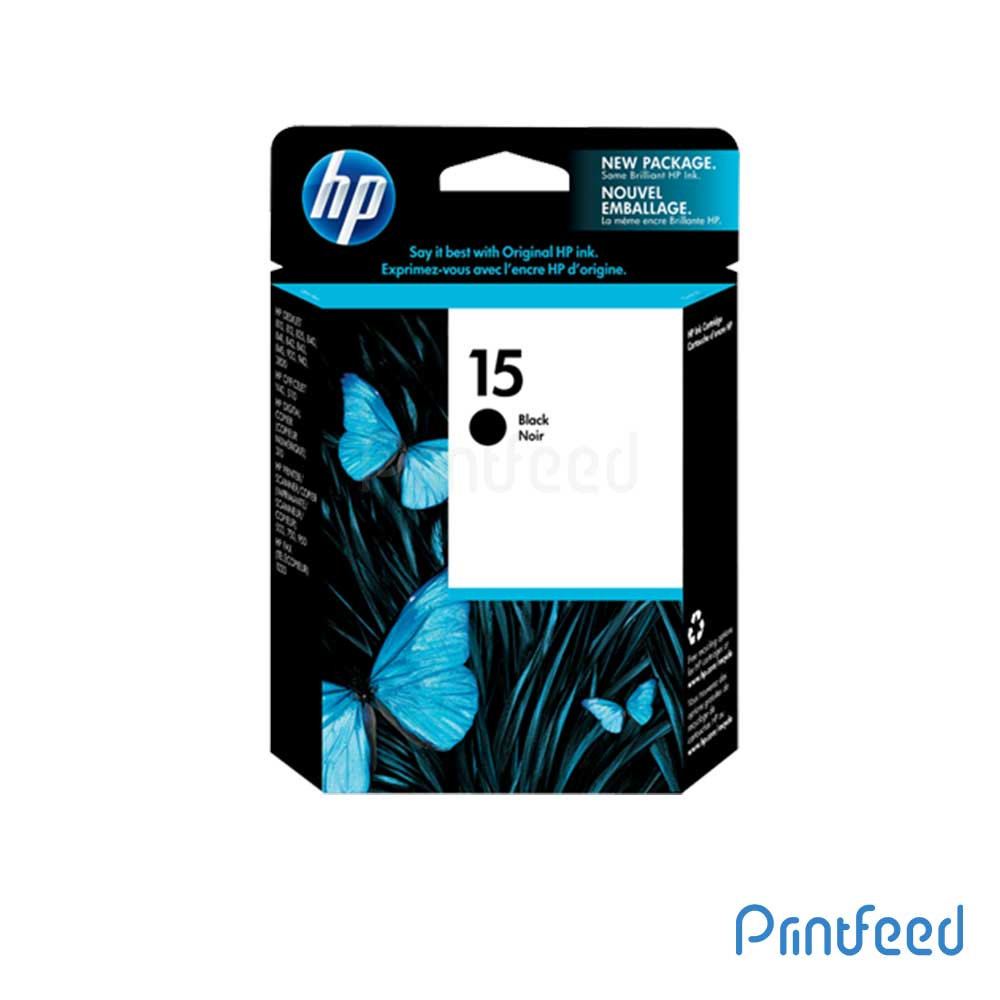 HP 15 Black Inkjet Print Cartridges