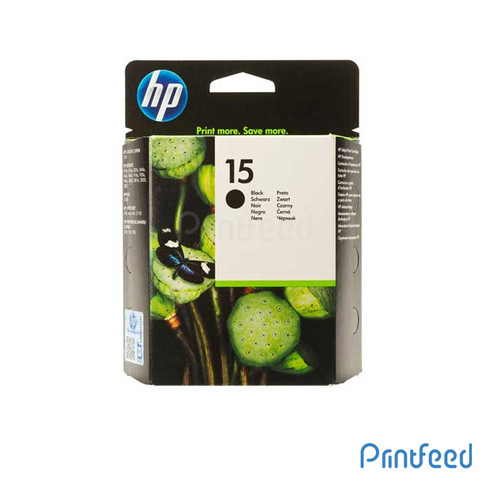 HP 15 Large Black Inkjet Print Cartridges