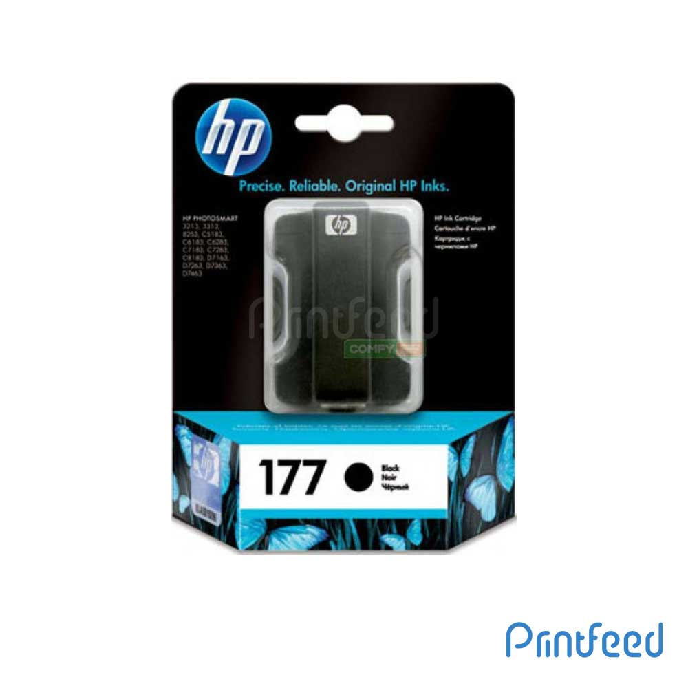HP 177 Black Inkjet Print Cartridge